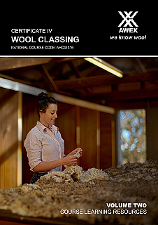 AHC41316 Certificate IV Wool Classing: Volume 2