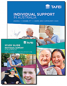 Individual Support in Australia - Textbook and Study Guide Bundle