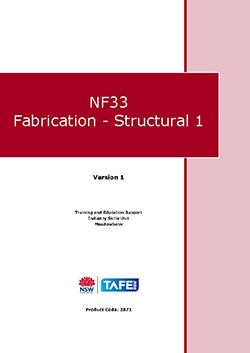 NF33 Fabrication - Structural 1
