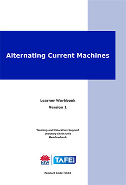 ALTERNATING CURRENT MACHINES - VERSION 1