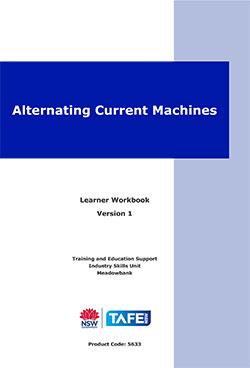 Alternating Current Machines Learner Workbook Version 1