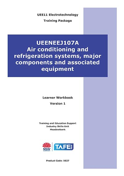 AIR CONDITIONING & REFRIGERATION SYSTEMS, MAJOR COMPONENTS & ASSOCIATED EQUIPMENT