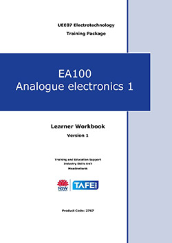 EA100 Analogue electronics 1