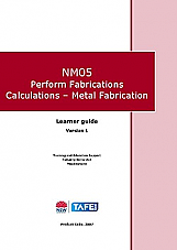NM05 Perform Fabrications Calculations - Metal Fabrication