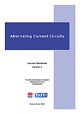 Alternating Current Circuits Learner Workbook Version 1.