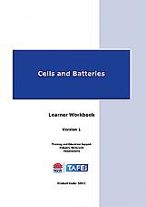 Cells and Batteries Learner Workbook Version 1.