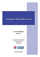 Domestic Wiring Practices Learner Workbook Version 1.