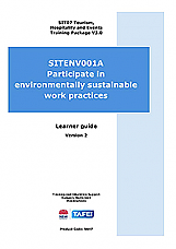 SITXENV001A Participate in environmentally sustainable work practices - Learner Guide v2