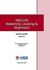 MEC109 Balancing Leveling & Alignment