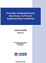 Provide Computational Solutions to Power Engineering Problems - Version 3
