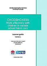 CHCOSHC403A Work effectively with children in outside school hours care