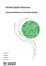 The Hair Stylist's Reference/Portfolio Statement of Attainment – Hair and Make-up Stylist