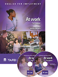 At work: Post-beginner (Workbook & CD & DVD)