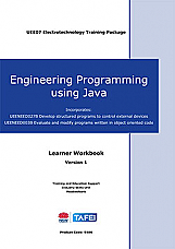 Engineering Programming using Java (Incorporates UEENEED027B and UEENEED003B) Learner Workbook