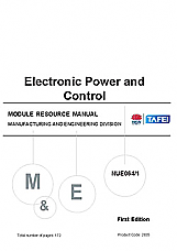 NUE064 Electronic power and control